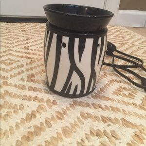 Zebra wax warmer